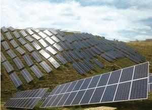 本项目采用分块发电、集中并网、集中控制方案,将10WMp光伏并网发电单元的电池组件采用串、并联的方式组成多个太阳能电池阵列。